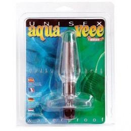 Aquavee But Plug Clear W/ Vib