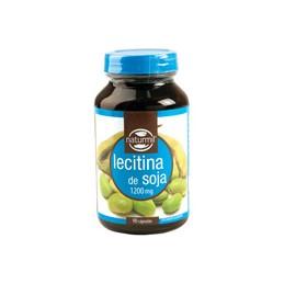 Lecitina de Soja 1200 mg 90 capsulas Naturmil