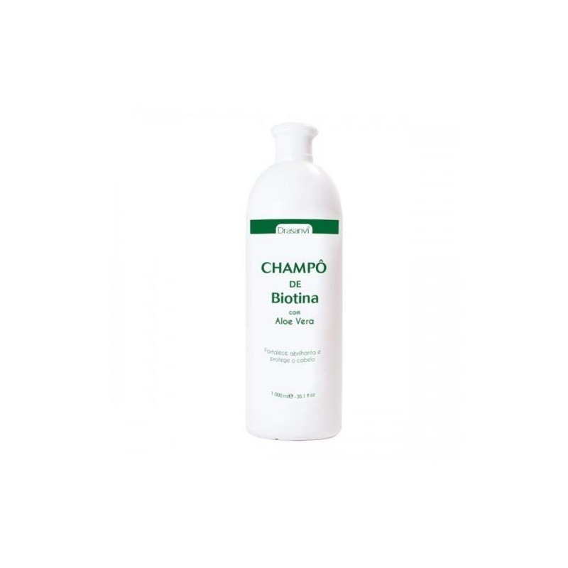 Shampoo Biotina e Aloe Vera 1L