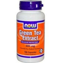 Green Tea Extract 400mg 100 capsulas Now