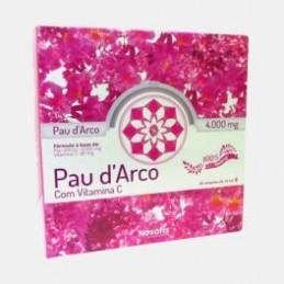 Pau D'arco com Vitamina C 30 ampolas