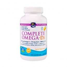 Complete Omega - D3 60 Capsulas