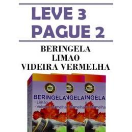 Beringela+Limao+Videira Vermelha - Leve 3 Pague 2