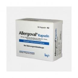 Allergoval 50 cápsulas