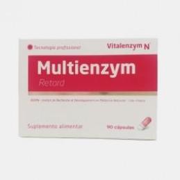 Multienzym Retard 90 cápsulas