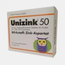 Unizink 50 - 100 comprimidos