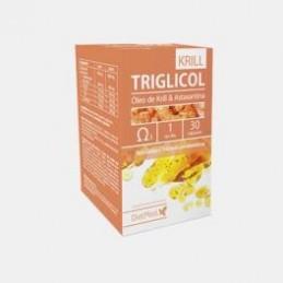 Triglicol Krill & Astaxantina 30 Cápsulas