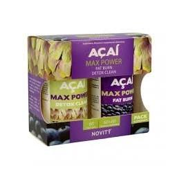 Acai Max Power 60 capsulas +60 comprimidos