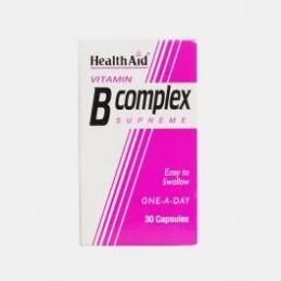 B Complex 30 cápsulas Health Aid