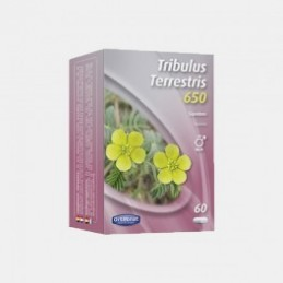 Tribulus Terrestris 650mg 60 capsulas