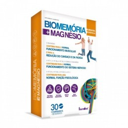 Biomemoria Magnésio 30 Comprimidos