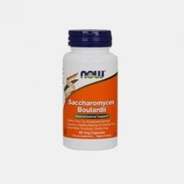 Saccharomyces Boullardi 60 cápsulas Now