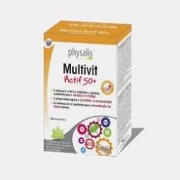 Multivit Actif 50+ 30 Comprimidos Bioceutica