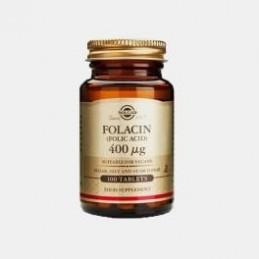 Solgar Acido Folico 400mg 100 comprimidos