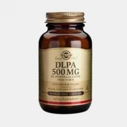DLPA DL-Phenylalanine 500mg 50 cápsulas vegetais