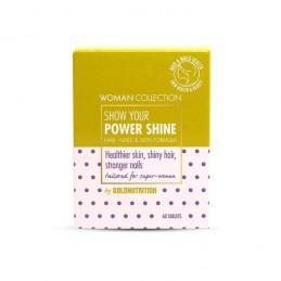 Power Shine Cabelo, Unhas e Pele 60 comprimidos