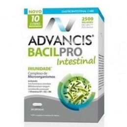 Advancis Bacilpro Intestinal 20 Capsulas