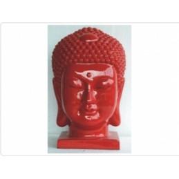 Buda Cabeca M Vermelho