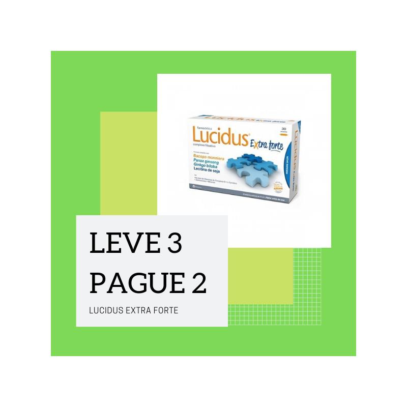 Lucidus Extra Forte 30 Ampolas Leve 3 Pague 2