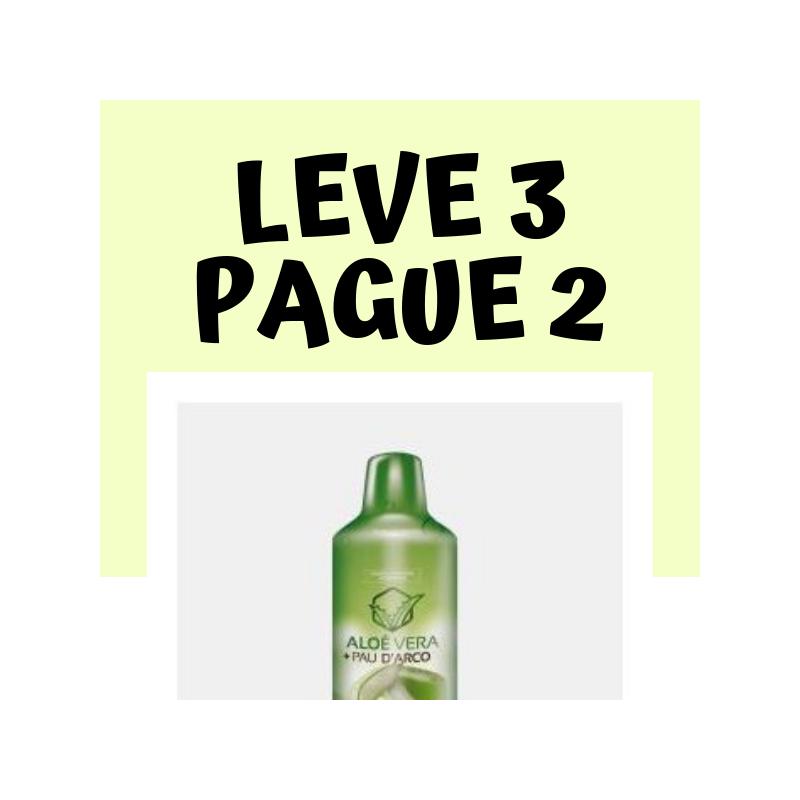 Aloé Vera + Pau D Arco - Leve 3 Pague 2