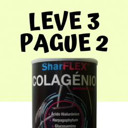 Sharflex Colagenio - Leve 3 Pague 2