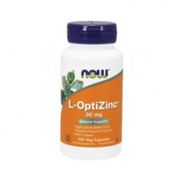 L-OptiZinc + Copper 30mg 100 Cápsulas
