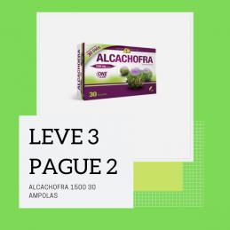 Alcachofra 1500 30 Ampolas Leve 3 Pague 2