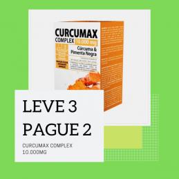 Curcumax Complex 10.000mg 60 comprimidos Leve 3 Pague 2