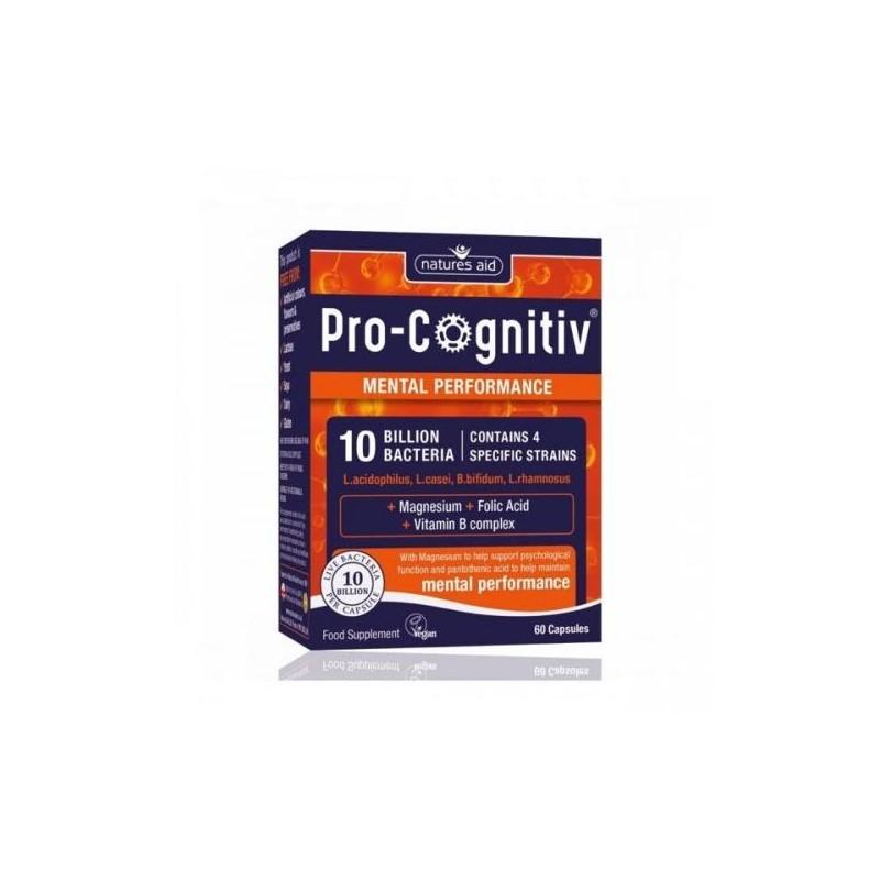 Pro-Cognitiv 10 Billion Bacteria 60 cápsulas