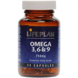 Omega 3, 6 & 9 750mg 30 Cápsulas