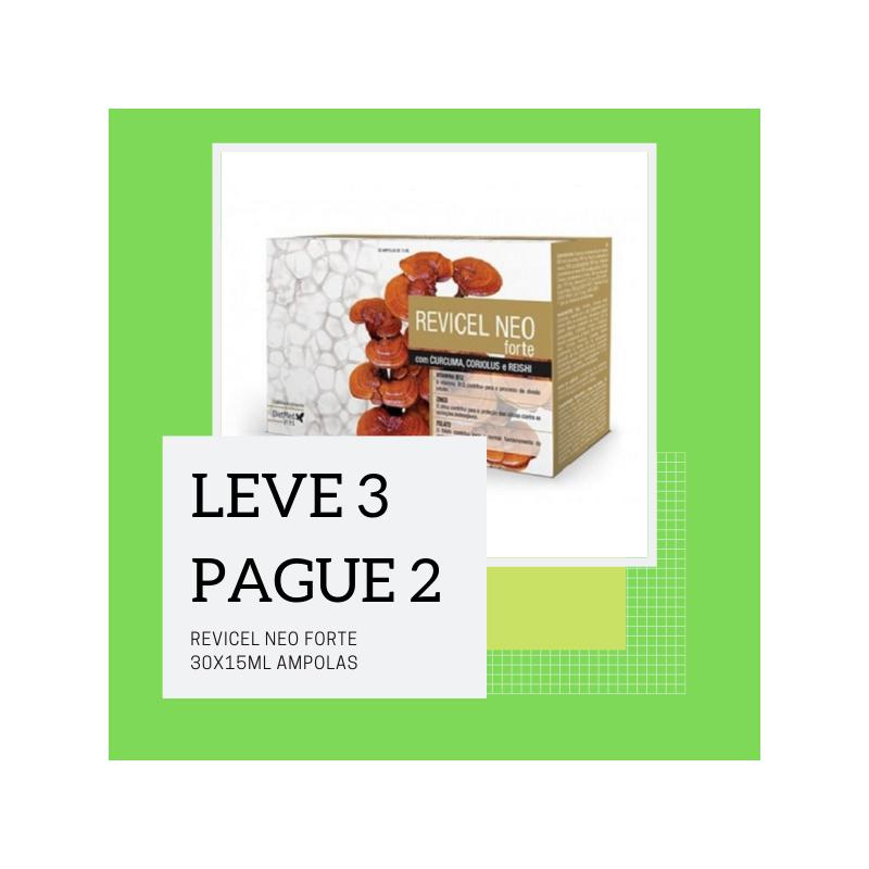 Revicel Neo Forte 30x15ml Ampolas - Leve 3 Pague 2