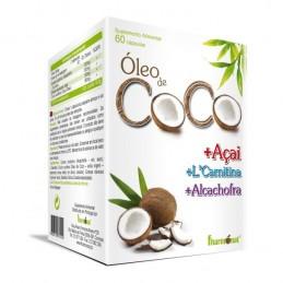 Óleo de Côco + Açai 60 cápsulas