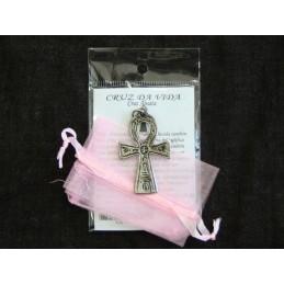Amuleto Cruz da Vida(Cruz Ansata)