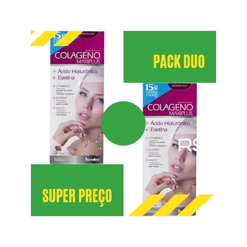 Colageno Maxiplus 500ml Pack Duo