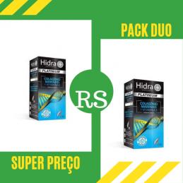 Hidra+ Platinium Colagénio Marinho + Vitamina E 30 cápsulas Leve3 Pague 2
