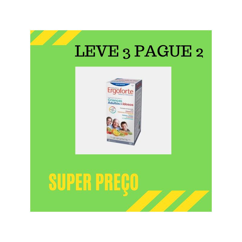 Ergoforte Xarope 480ml Leve 3 Pague 2
