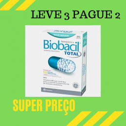 Biobacil Total 20 capsulas de 500mg Leve 3 Pague 2