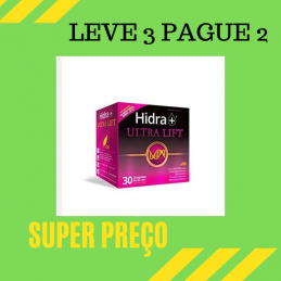 Hidra+ Ultra Lift 30 ampolas Leve 3 Pague 2