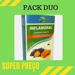 Inflamoral 20 comprimidos mastigaveis Pack Duo