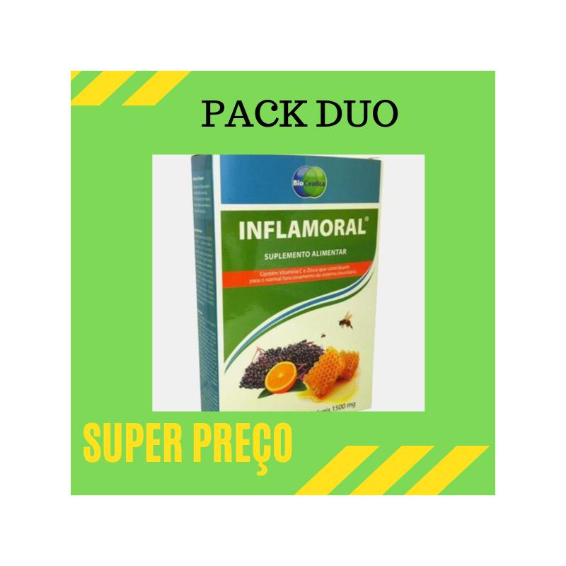 Inflamoral 20 comprimidos mastigaveis Pack Duo