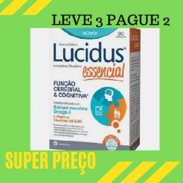 Lucidus Essencial 30 Cápsulas Leve 3 Pague 2