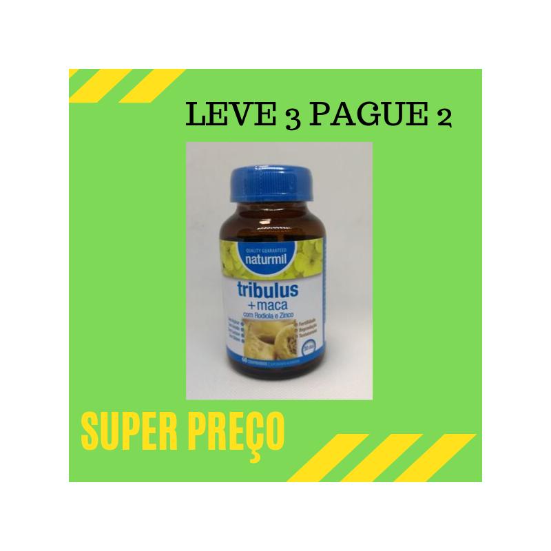 Tribulus + Maca 60 comprimidos Leve 3 Pague 2
