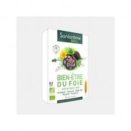 Santarome Bien Etre Du Foie (hepatonic) Bio 20 Ampolas