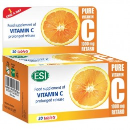 Vitamina C Pura Retard 30 comprimidos