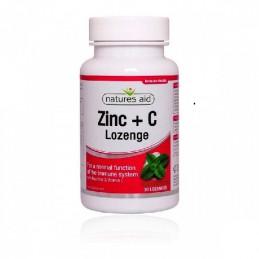 Zinco + Vitamina C + Roseira Brava 30 comprimidos