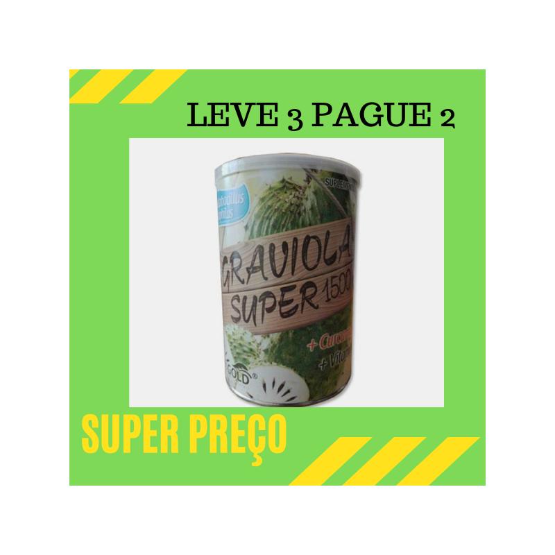 Graviola Super 1500 Leve 3 Pague 2