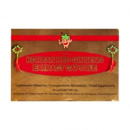 Korean Red Ginseng Extract Capsule 1750 Mg