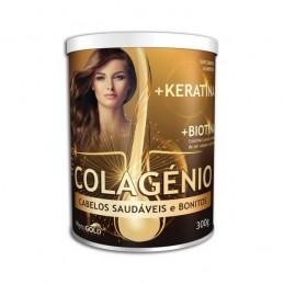 Colagénio + Keratina + Biotina 300g PytoGold