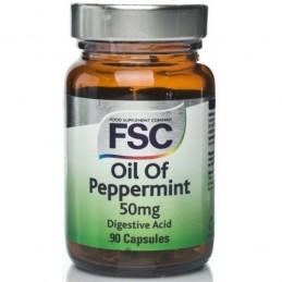 Oil of Peppermint 50mg 90 Cápsulas FSC