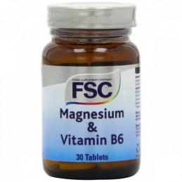 Magnésio + Vitamina B6 30 comprimidos FSC